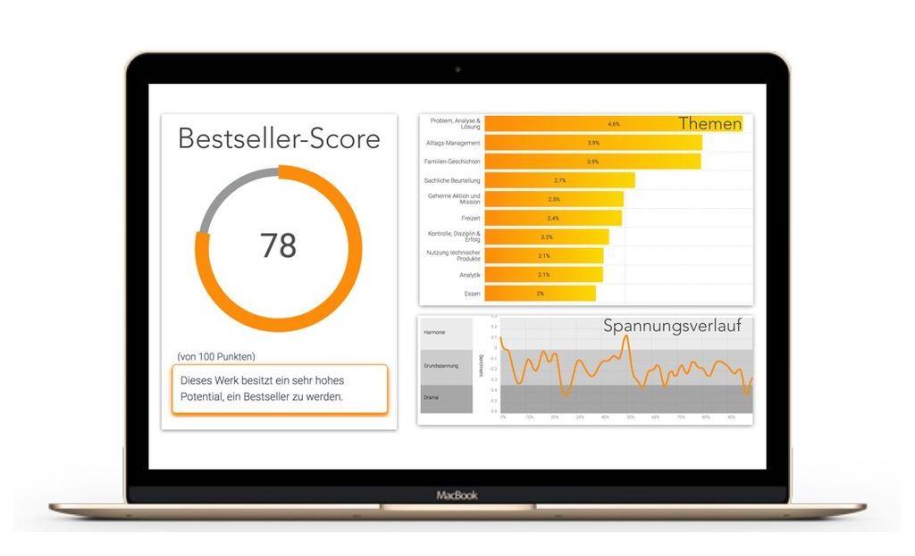 Qualifiction: Diese KI-Software sagt dir, ob dein Buch ein Bestseller wird