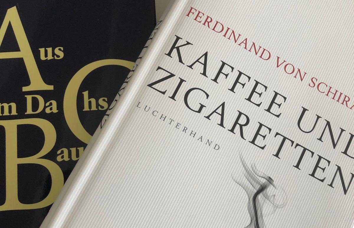 """Rezension: """"Kaffee und Zigaretten"""" von Ferdinand von Schirach"""