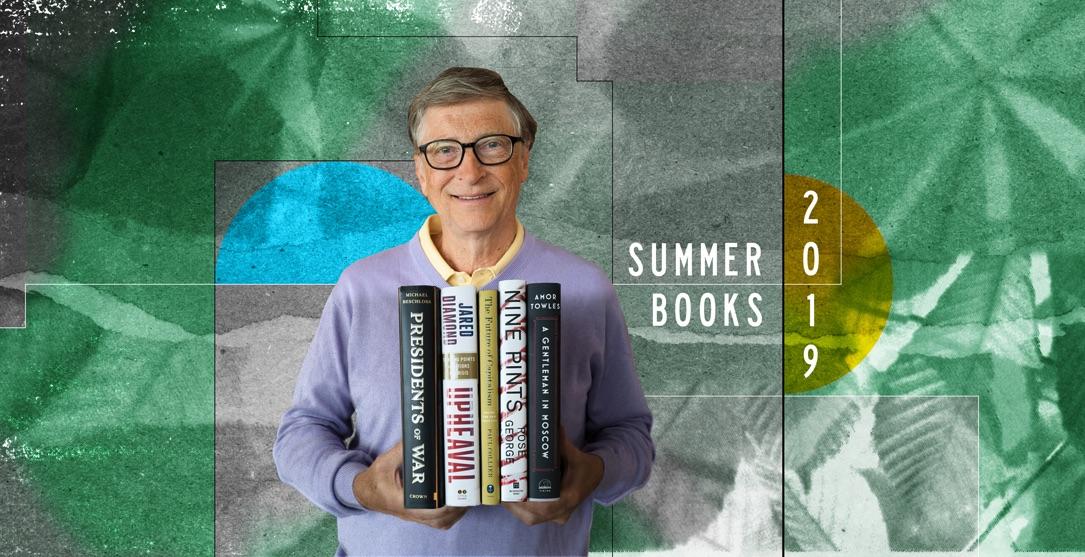 Buch-Tipps von Bill Gates