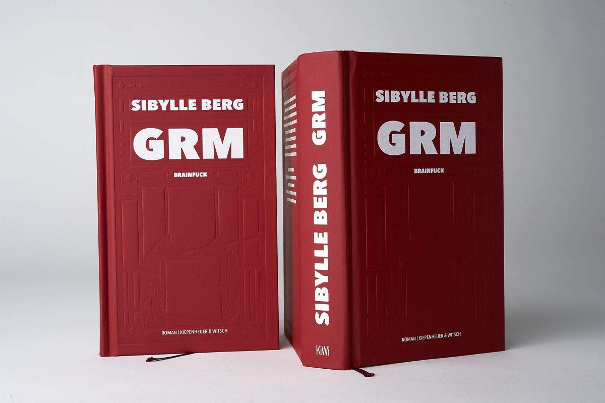 """Cover """"GRM: Brainfuck"""" von Sibylle Berg"""