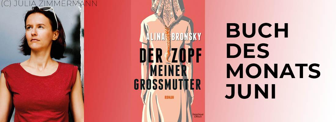 """Alina Bronsky """"Der Zopf meiner Großmutter"""""""