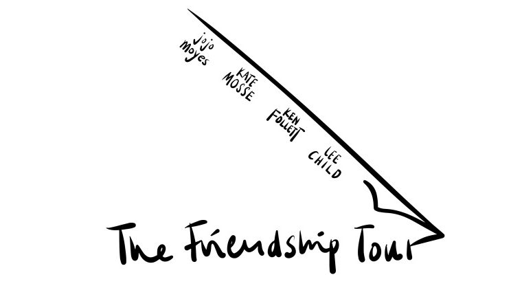 Ken Follett, Jojo Moyes und mehr: Britische Autor*innen auf Freundschaftstournee