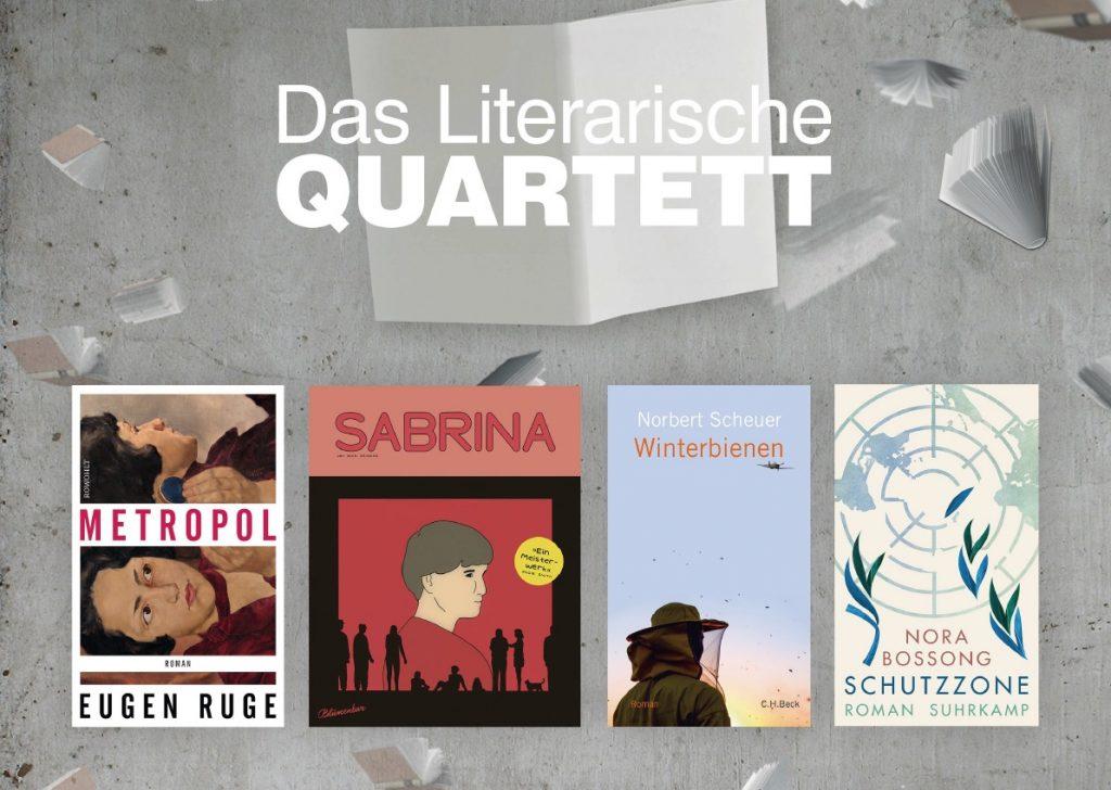 """Bücher für """"Das Literarische Quartett"""""""