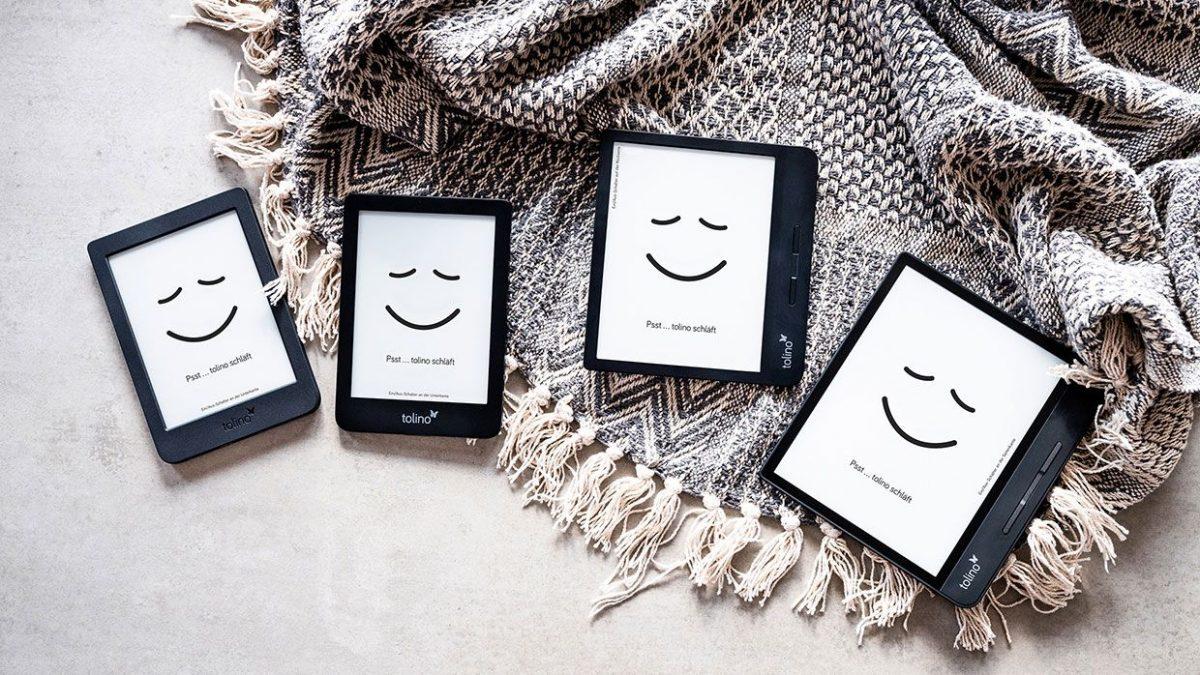 Neue E-Book-Reader: Tolino Page 2, Vision 5 und Epos 2 und Pocketbook Inkpad X