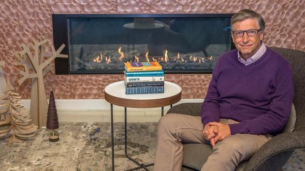 Für dieses Buch blieb Bill Gates bis 3 Uhr wach – und diese Bücher empfiehlt er
