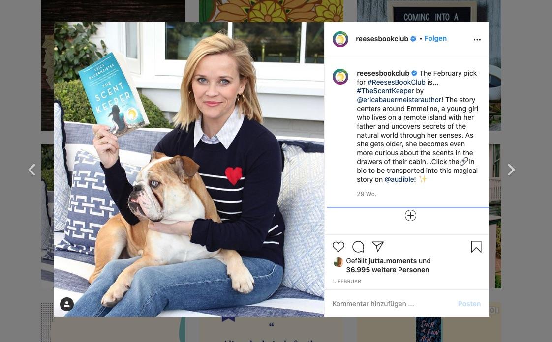 Reese Witherspoon empfiehlt Bücher