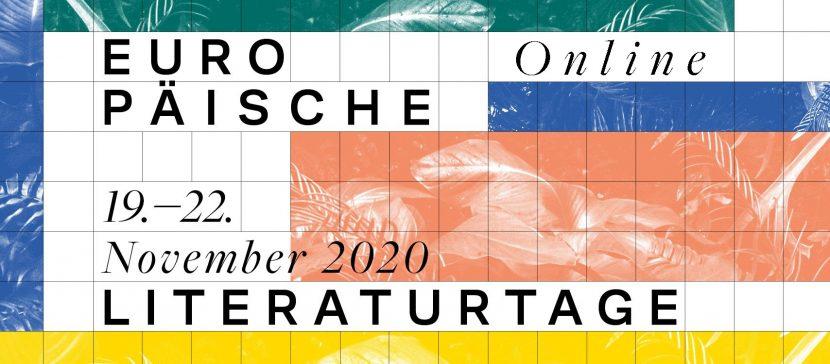 Die Europäischen Literaturtage finden online statt